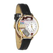 Image of Accountant Watch in Gold (Large)