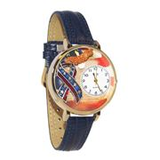 Image of American Patriotic Watch in Gold (Large)