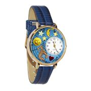 Image of Aquarius Watch in Gold (Large)