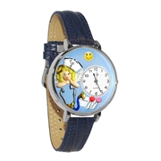 Nurse Angel Watch in Silver (Large)
