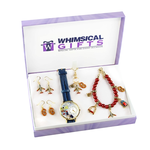 Flight Attendant Jewelry Sets